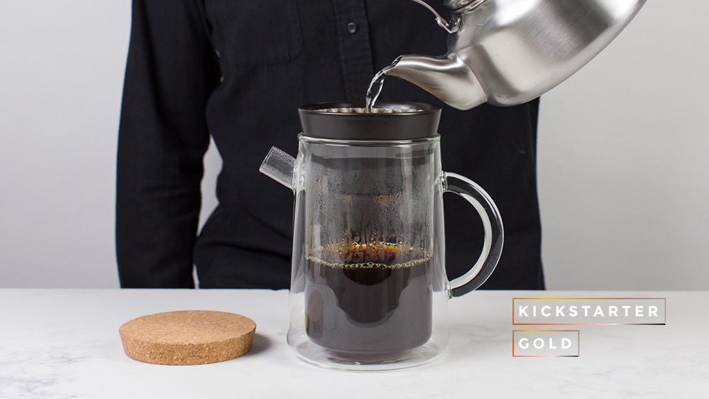 Kickstarter Gold: Manual Coffeemaker N?3 by Craighton Berman Kickstarter