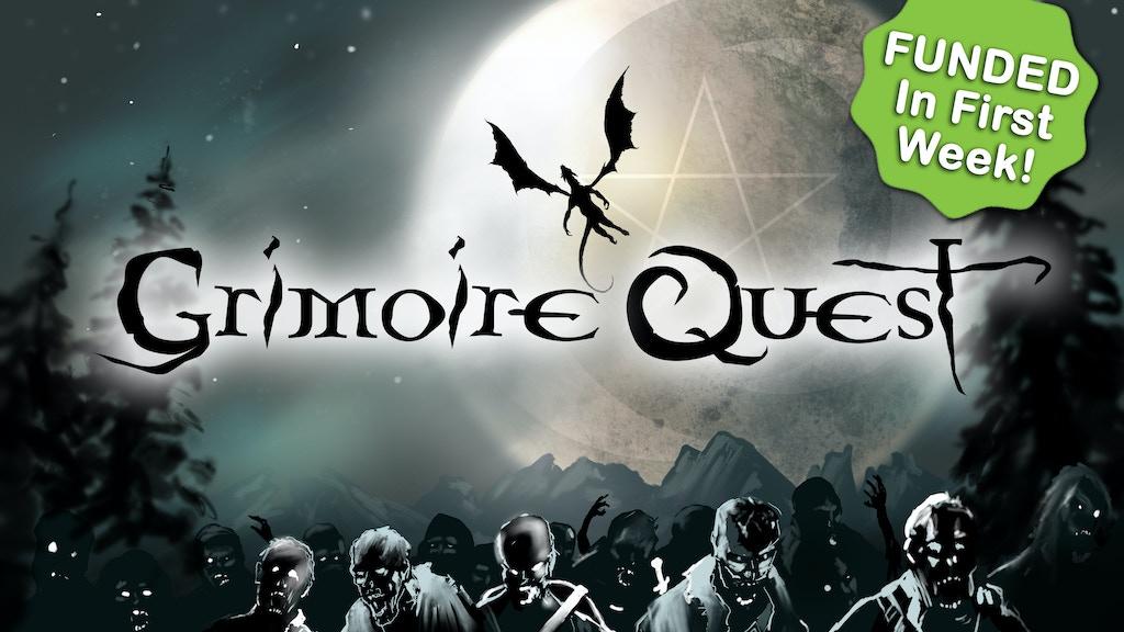 Grimoire Quest: A Mystical Battle Game project video thumbnail