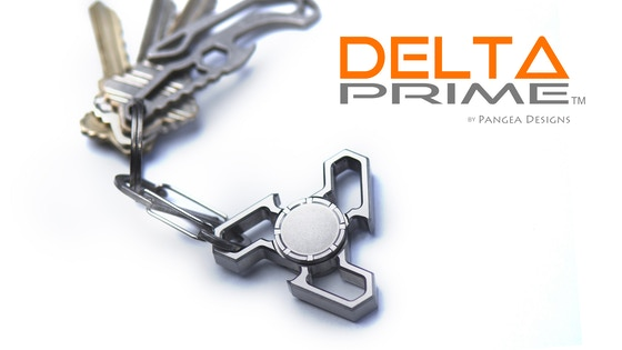 Delta Prime: fidget spinner / bottle opener