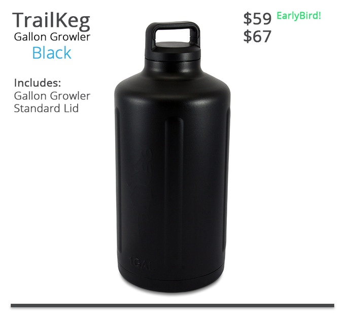 TrailKeg Gallon - Black