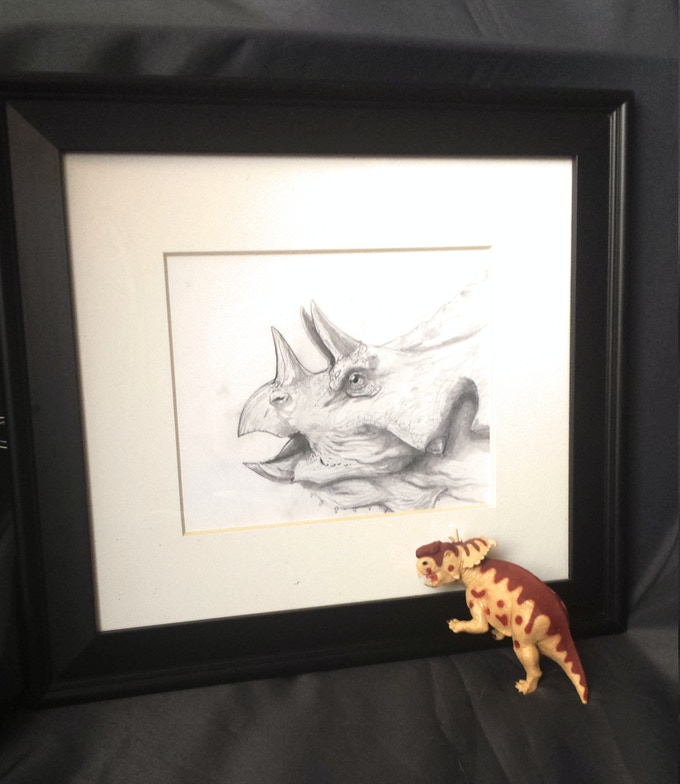 Portrait of a Chasmosaurus