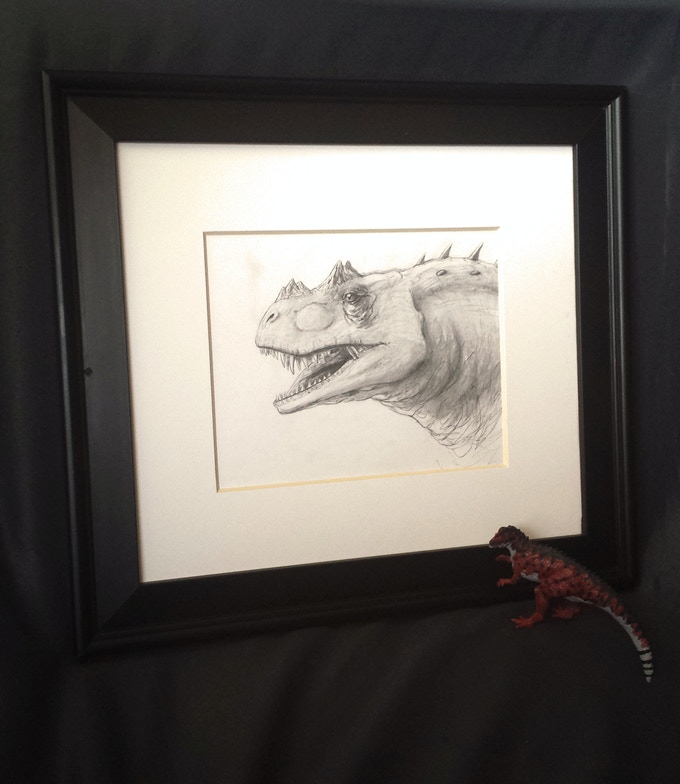 Portrait of a Ceratosaurus