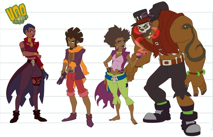An example of Nick Freeman's artwork on his creator owned series Voo. All Original characters and illustrations are the property of Nicholas Freeman © 2013
