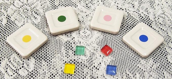 glass gem color markers