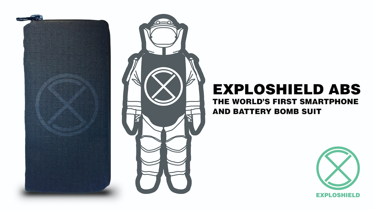 Real-life advanced bomb suit bullet proof materials, specially designed to protect you from smartphone and portable battery explosions.