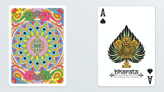 Card back & Ace of Spades