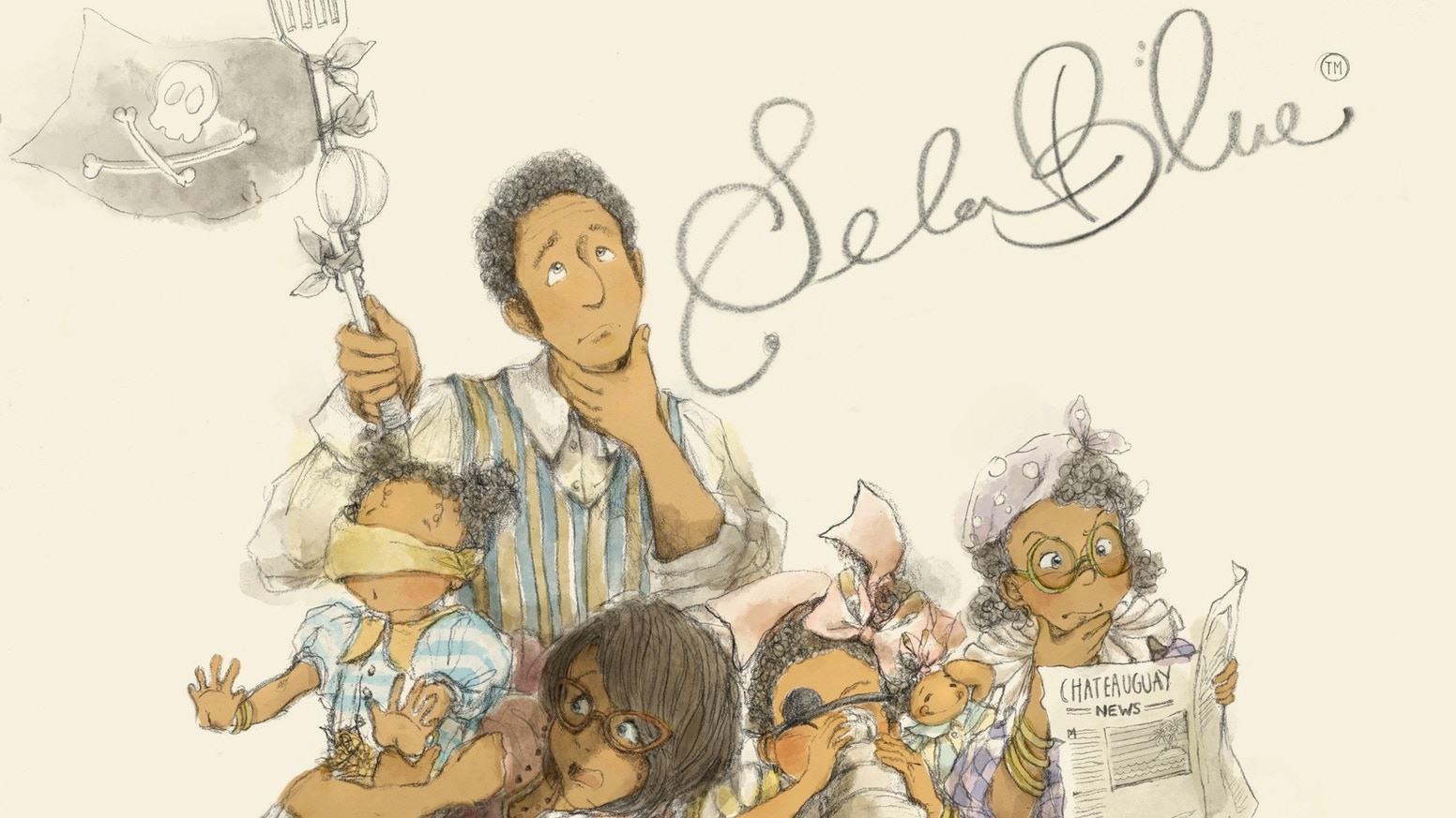 Sela Blue is a picture book that recounts the adventures of 6-year old Sela growing up in her multi-mosaic cultural world in Canada.