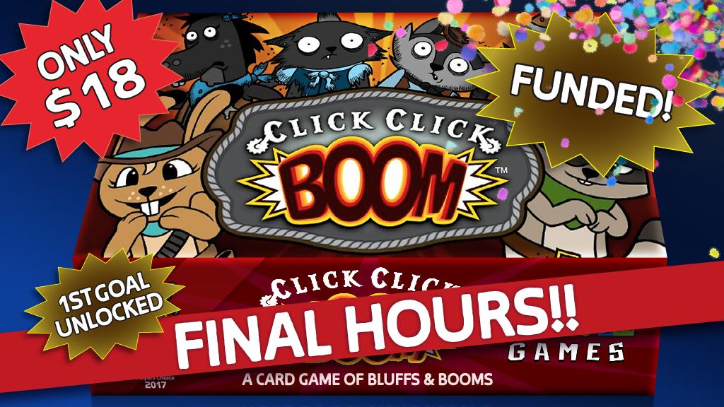 Click Click Boom project video thumbnail