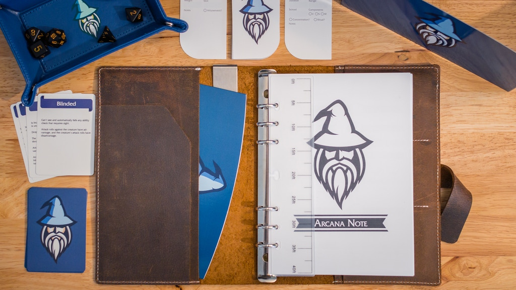 Arcana Note: 5E Leather Journal & Adventure Kit project video thumbnail