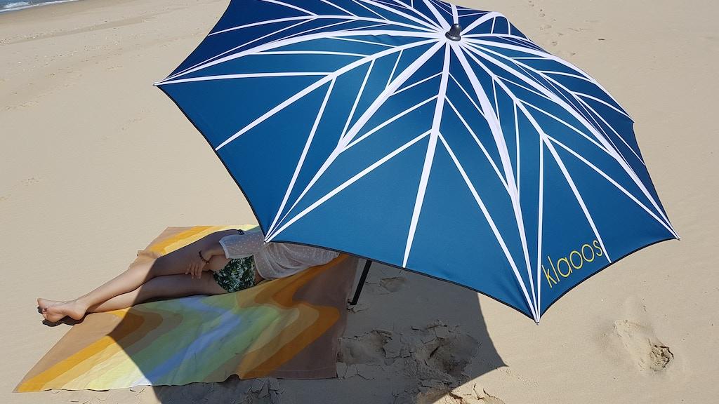klaoos parasol : your new beach umbrella project video thumbnail