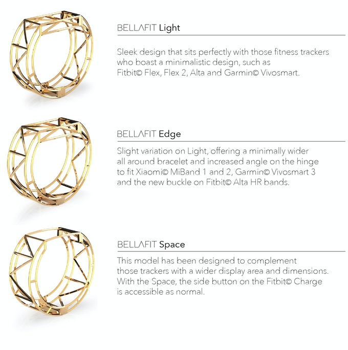 BELLAFIT | Beautiful Jewelry for Fitness Trackers by