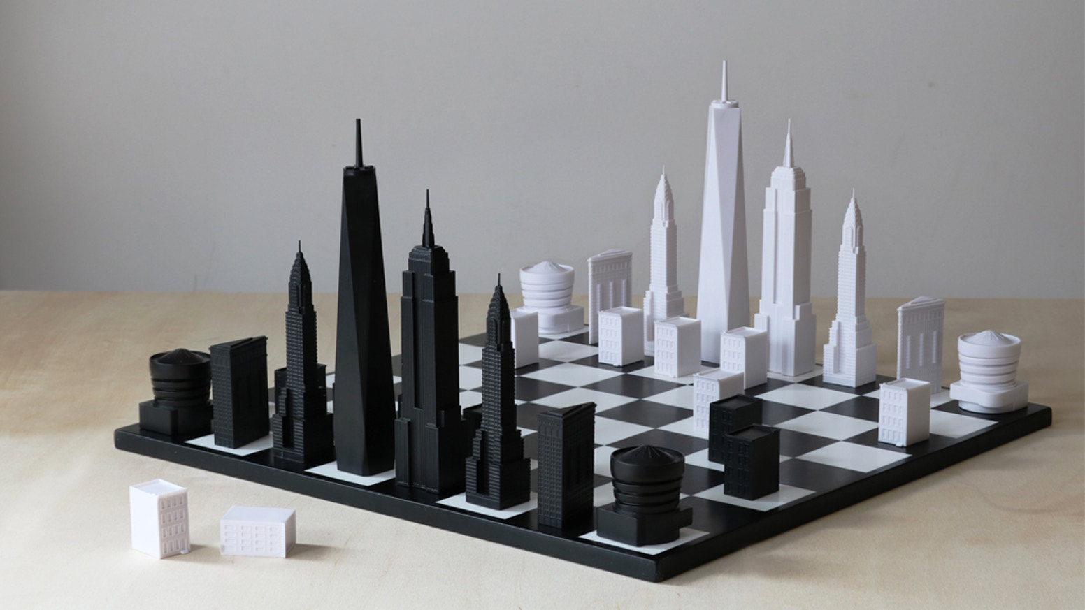 Bringing the iconic architecture of New York City to your chess board