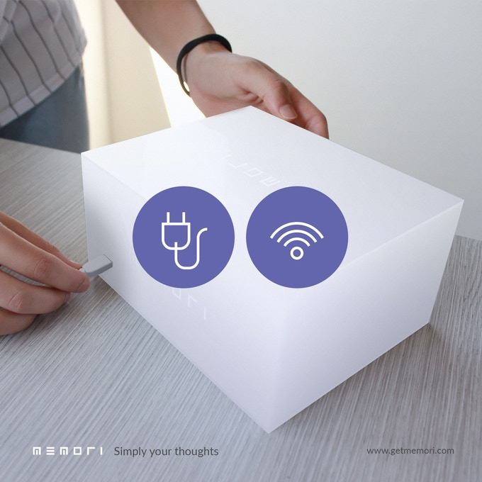 Plug and connect to Wi-Fi