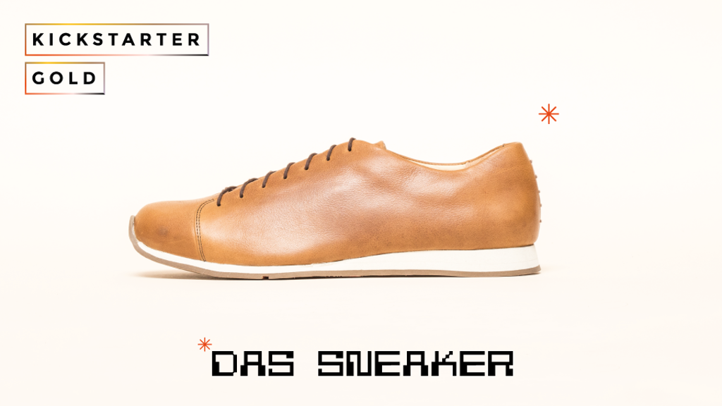 Kickstarter Gold: DAS SNEAKER, from ATHEIST Shoes
