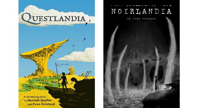 Questlandia and Noirlandia