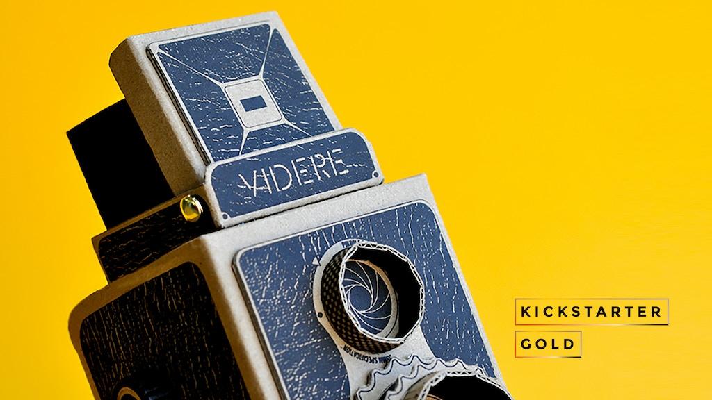 Kickstarter Gold: VIDERE 35mm DIY pinhole camera kit project video thumbnail