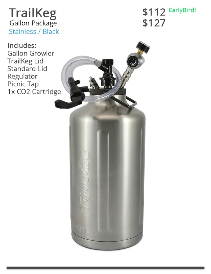 TrailKeg Gallon Picnic Tap