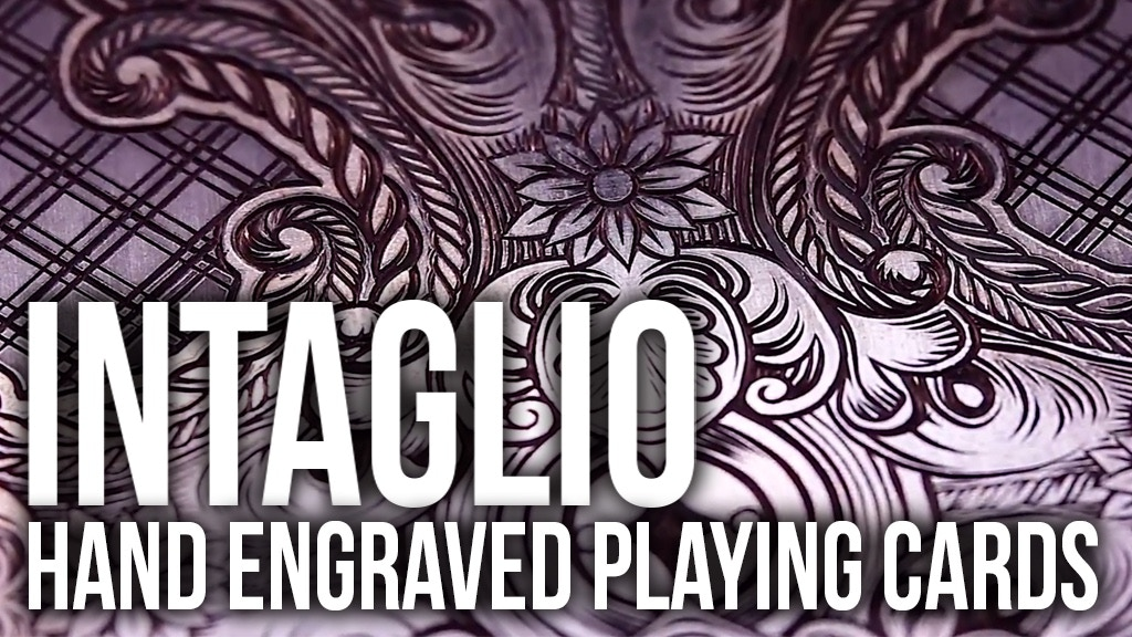 Intaglio - A Hand Engraved Print and Playing Card Series project video thumbnail