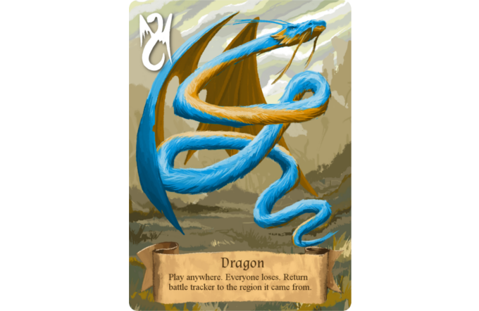 The Dragon is included in deluxe copies.