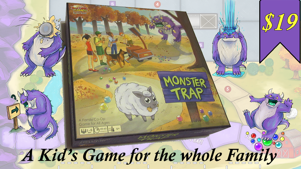 Monster Trap the Board Game project video thumbnail