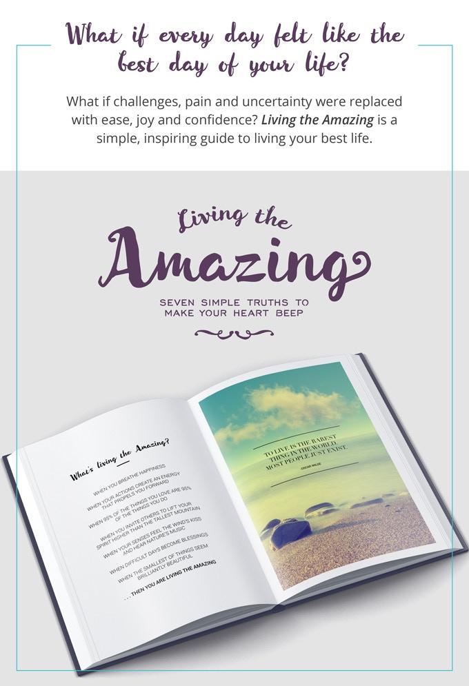 Living the Amazing Book by Jacqueline Camacho & Juan Pablo