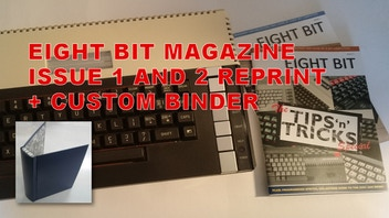Eight Bit Magazine Issue 1 and 2 reprint (For all 8-bits)