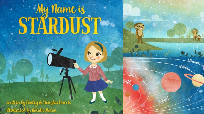 """My Name Is Stardust was inspired by what Neil DeGrasse Tyson called """"the most astounding fact""""- that we are literally made of stardust."""
