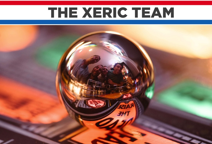 The Xeric team - Mitch, Andrew, Danny, Tyler, and Monica.