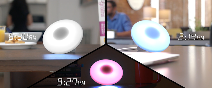 Here's a light that won't keep you awake at night