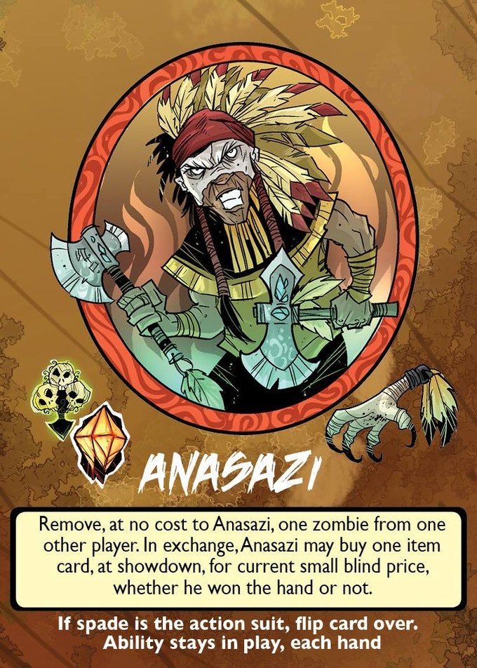 Anasazi, Warrior