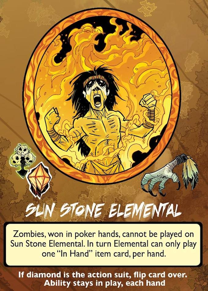 Sun Stone Elemental, Anasazi's alter ego