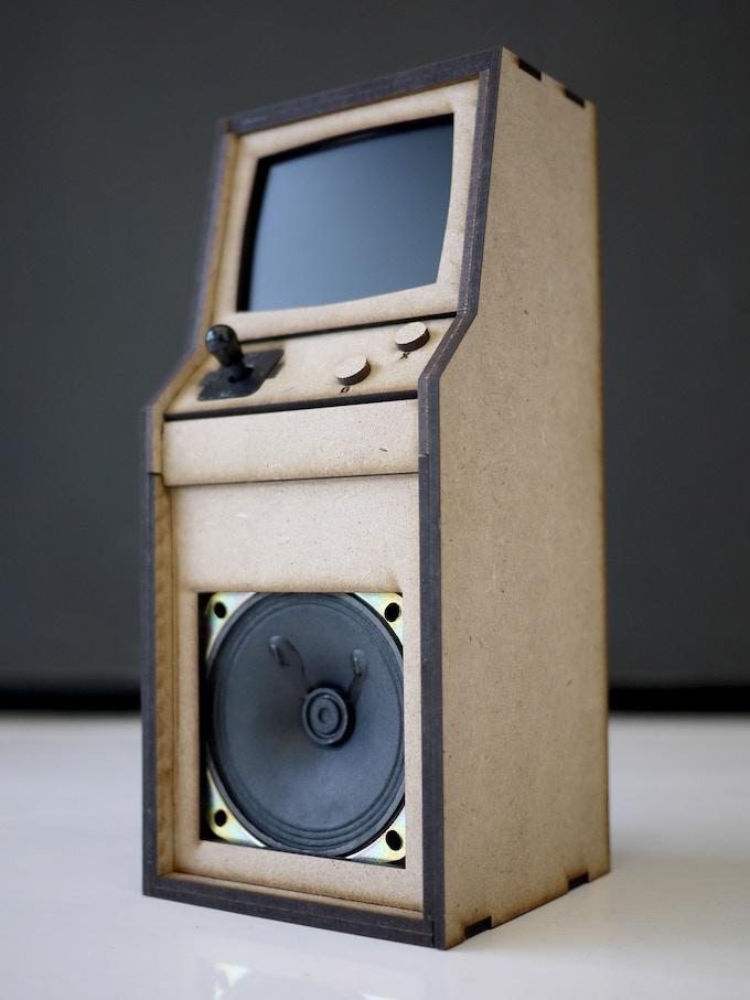 Pledge $250 - MDF Micro Arcade Cabinet