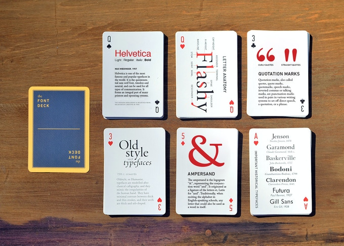 Screenshot of other cards in the deck.