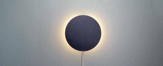 The integrated wake up light & audible alarm on the Sleep Tracker