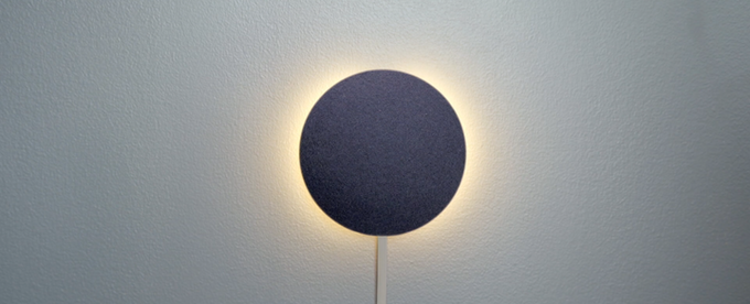 The integrated wake up light & audible alarm on the Sleep Tracker