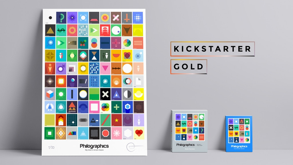 Kickstarter Gold: Philographics project video thumbnail