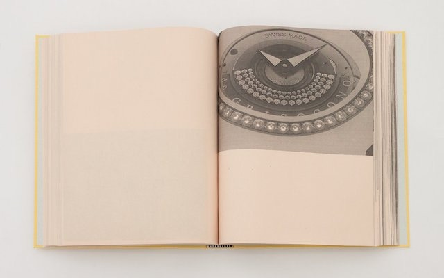 'Watch' by Caragh Thuring. An artist book produced with the artist at the Centre on the occasion of Thuring's exhibition at Chisenhale Gallery, 2015. Photo via Tender Books.