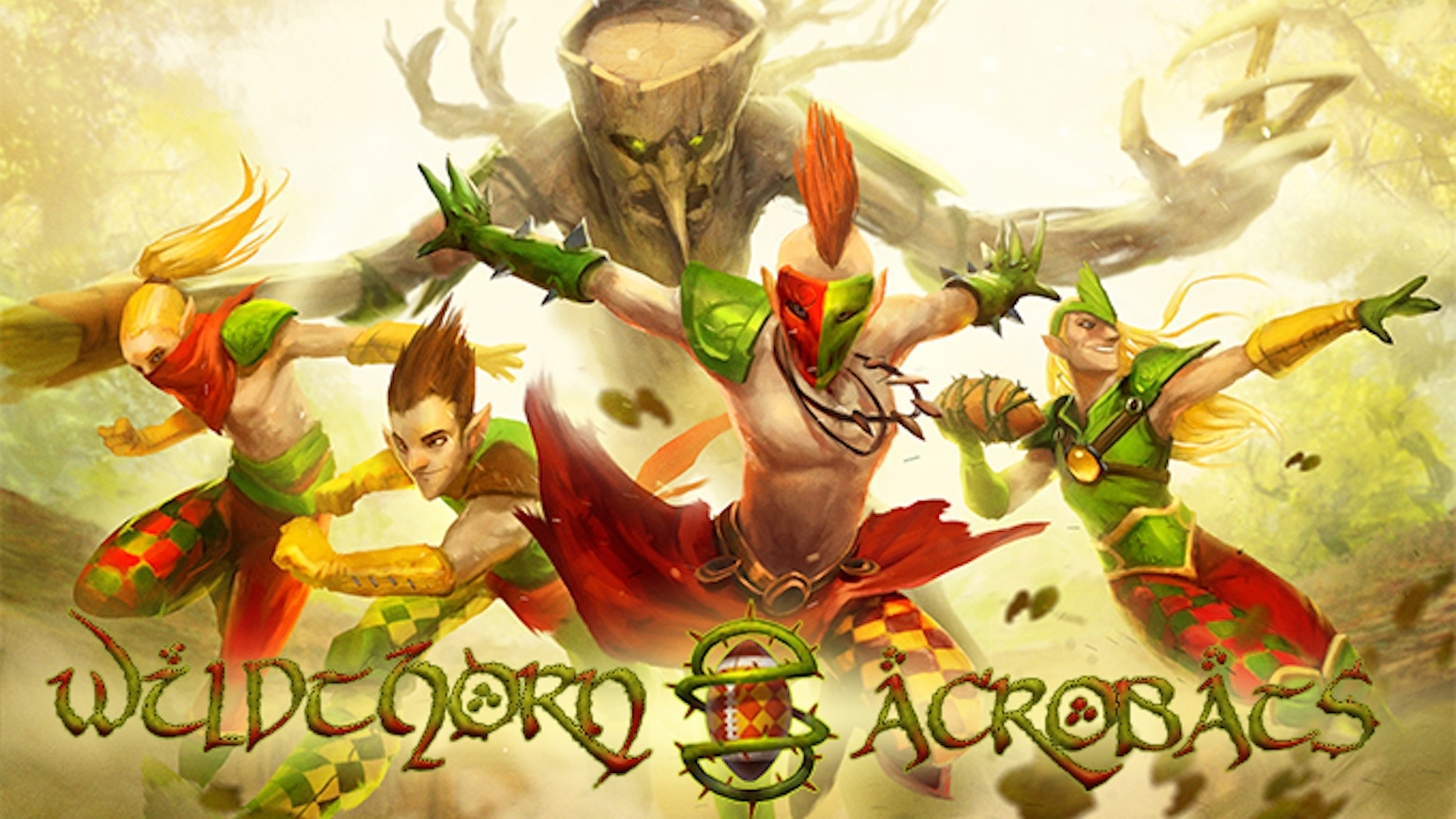We're proud to introduce the Wildthorn Acrobats! A project to create a high quality Fantasy Football wood elf team in 32mm scale.