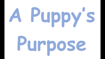 A Puppy's Purpose