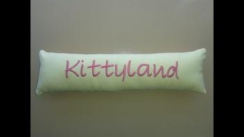 Personalized Catnip Kicker Toy