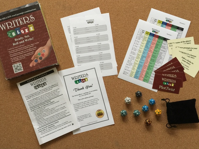 WritersBloxx Ultimate Challenge - More dice, more challenges, more fun