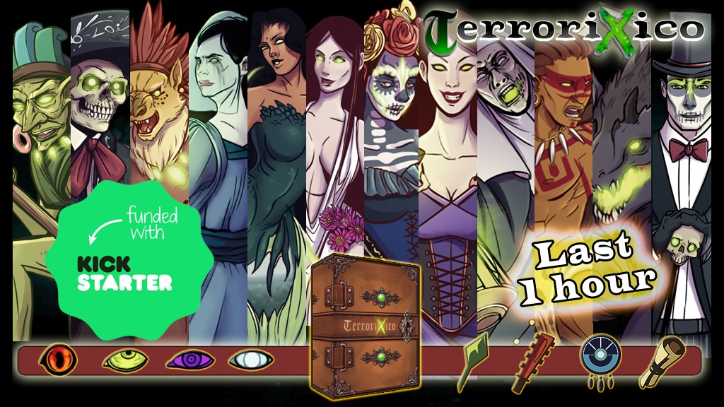 TerroriXico: Mexican Myths and legends project video thumbnail