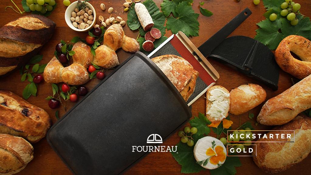 Kickstarter Gold: Fourneau Bread Oven 2.0 project video thumbnail
