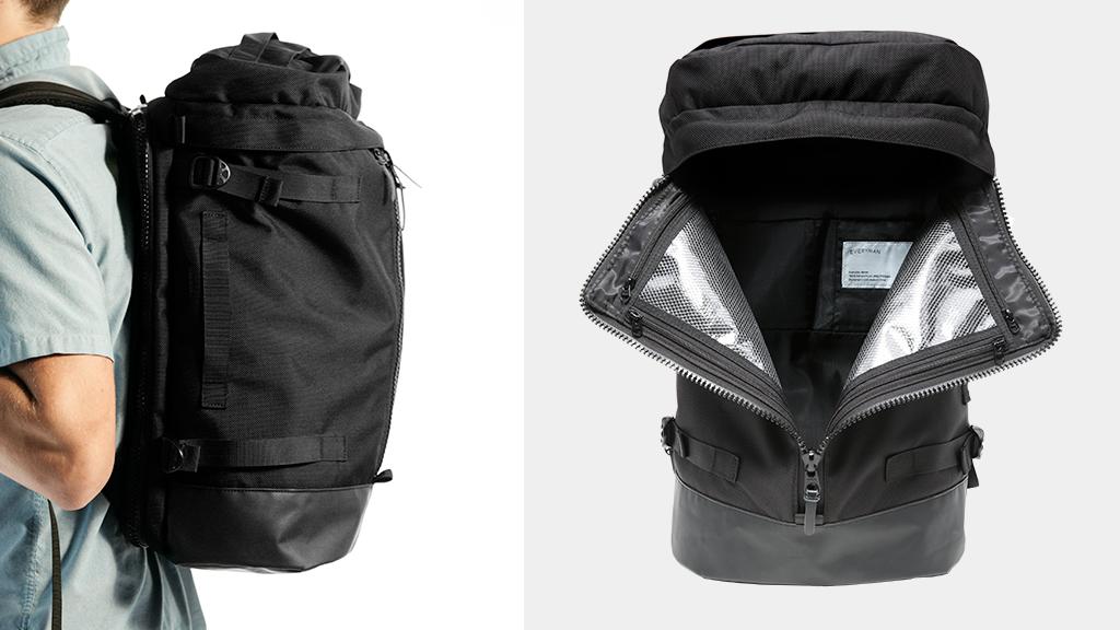 Backpack Leather Bag Travel pack, Backpack PNG | PNGWave