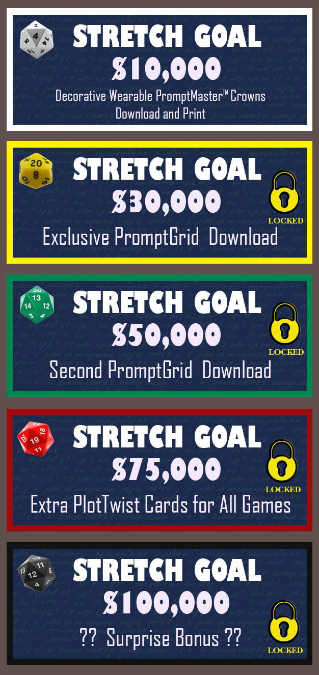 Stretch goals...Reach them and we all win