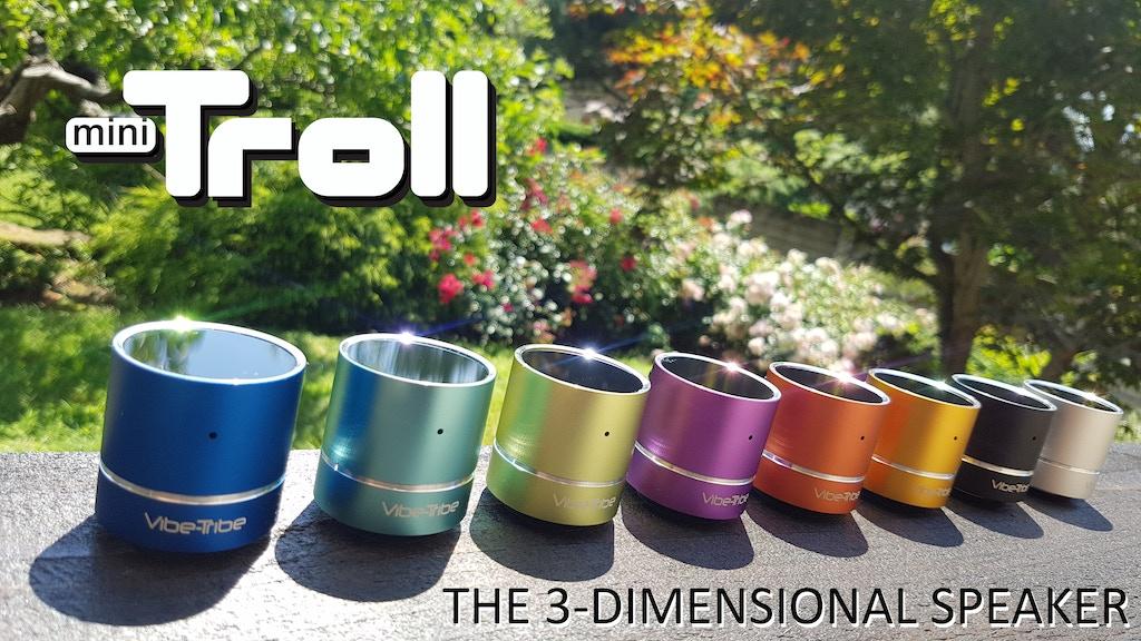 Mini Troll: The World's Smallest Resonance Speaker project video thumbnail