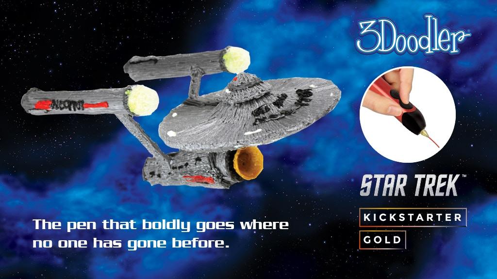 3Doodler Limited Edition Star Trek 3D Pen Sets project video thumbnail