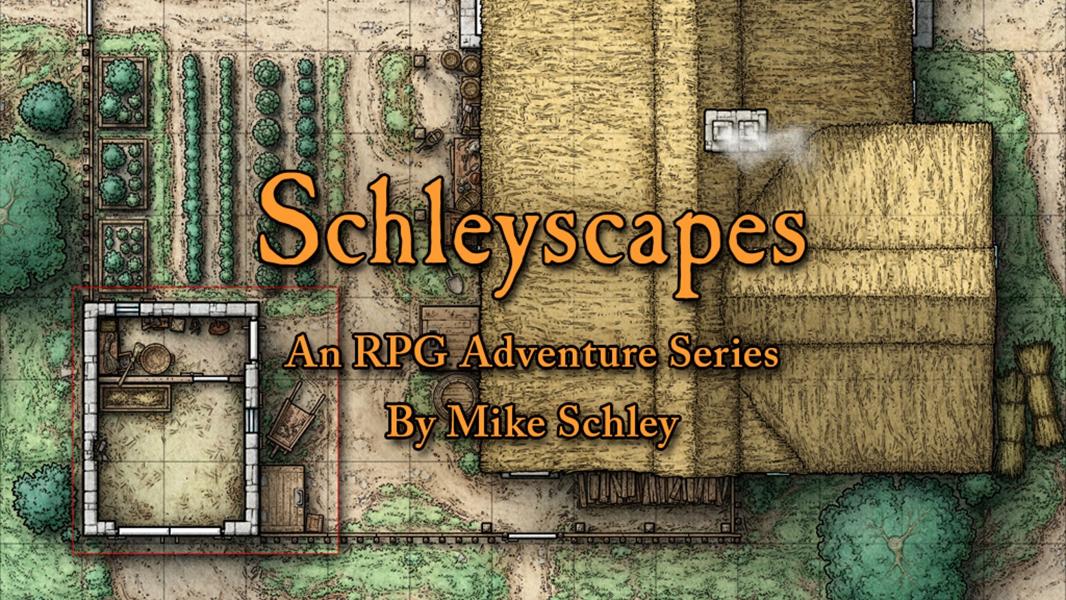 Within Schleyscapes, the new adventure series by Mike Schley, you'll find maps, art, & ideas to enrich your tabletop RPG campaign.
