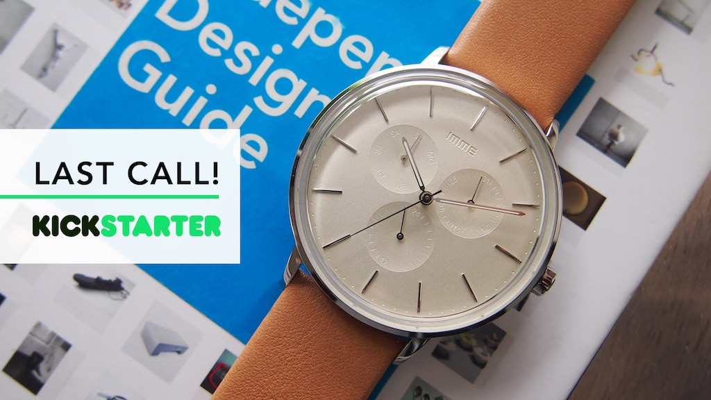 IMME Watches. Minimalistic, Subtle and Original design. project video thumbnail