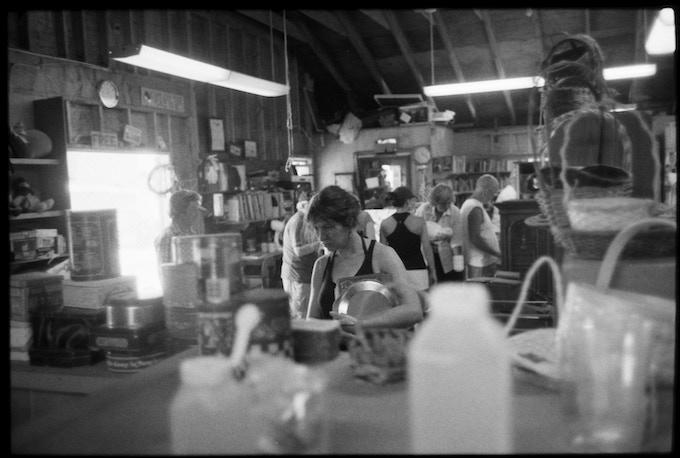 35mm black and white film